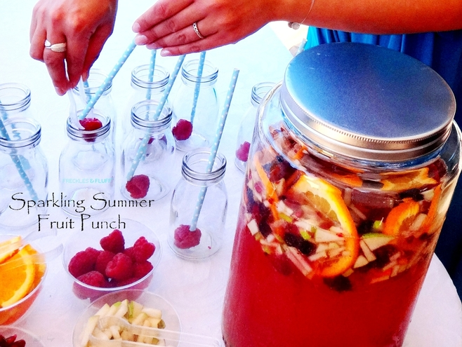 SPARKLING SUMMER FRUIT PUNCH RECIPE